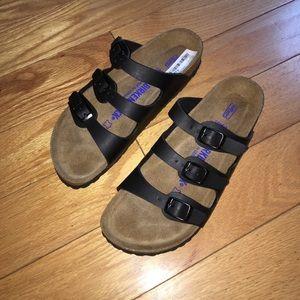 Birkenstock Pantolette Florida black sandals eu 37